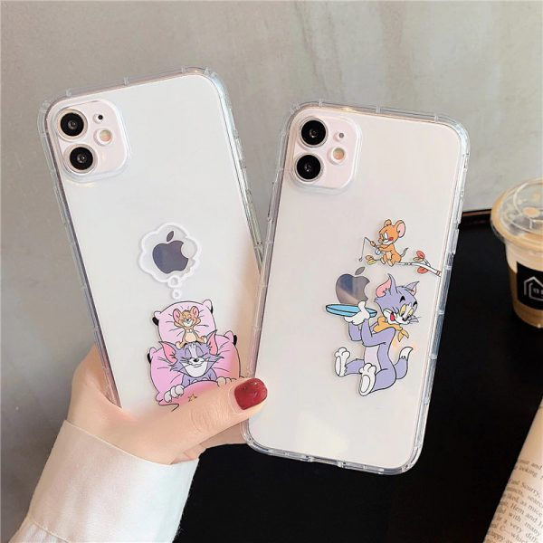 Funny Tom And Jerry iPhone Case