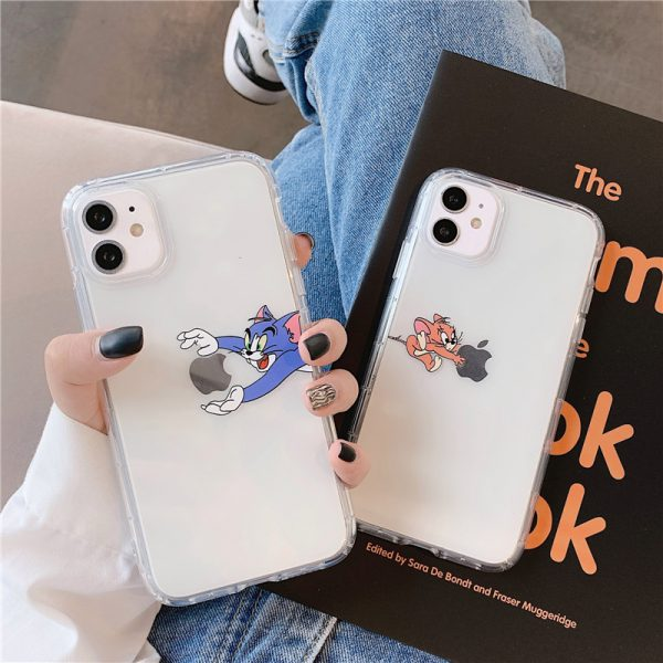 Cool Tom and Jerry iPhone 12 Case