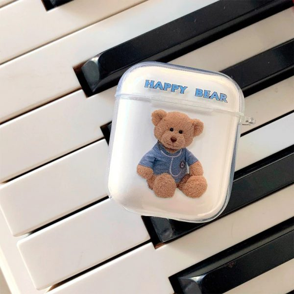 Funny Bear Airpod Case - Finishify-Store