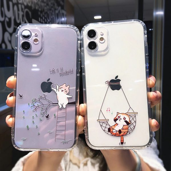 Funny Cat Design iPhone Case