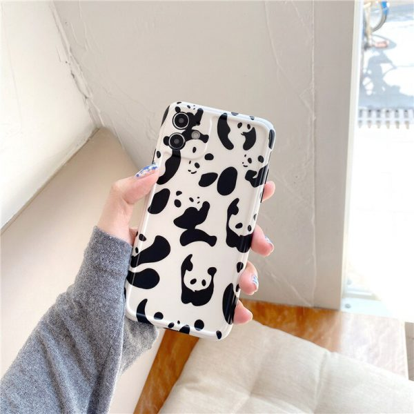 Funny Panda Protective iPhone 12 Case