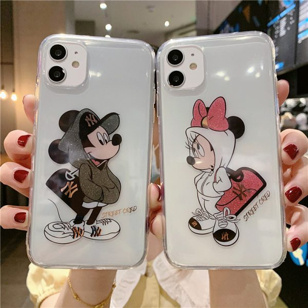Mickey Mouse Clear iPhone 12 Case