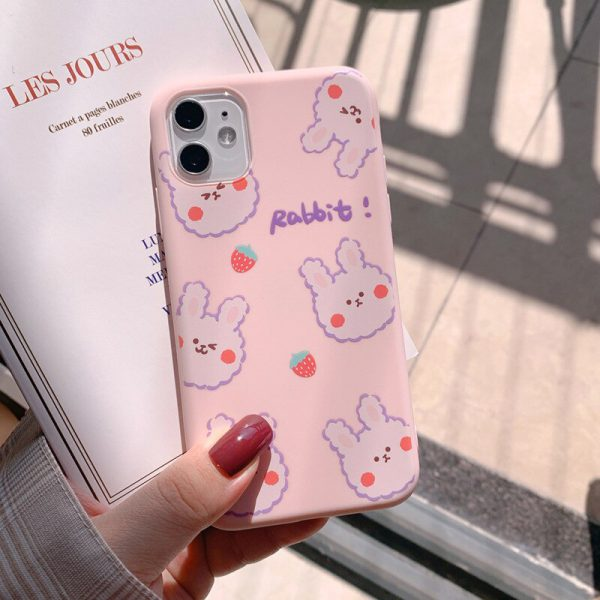 Pink Rabbit iPhone 11 Case