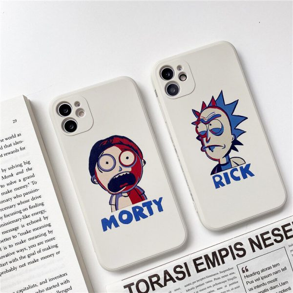 Rick and Morty Protective iPhone 12 Case