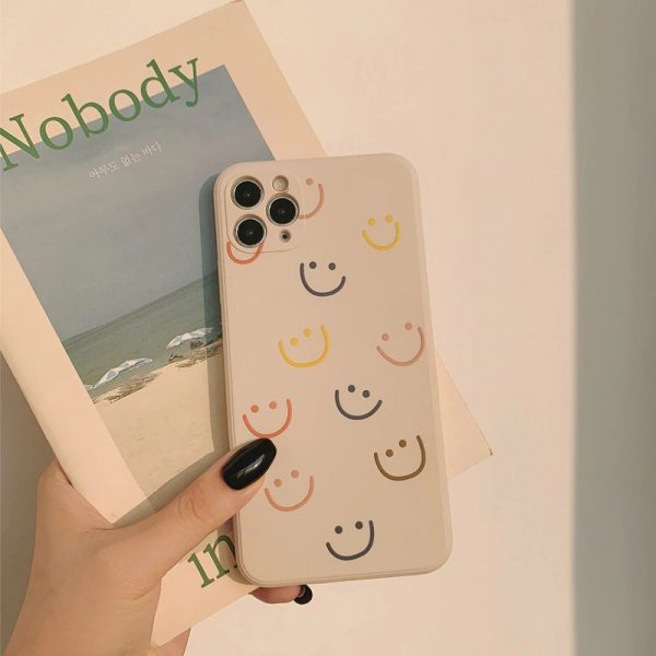 Smiley Matte iPhone Case