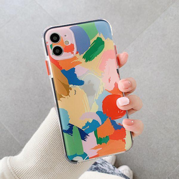 Splashing Paint iPhone 12 Pro Case