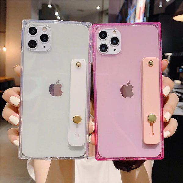 Wrist Strap Square iPhone 11 Pro Max Case