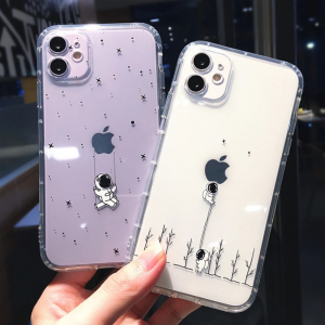 Playful Astronauts iPhone Case - FinishifyStore