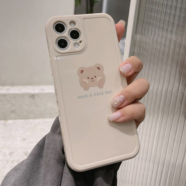Cream Bear iPhone Case - FinishifyStore