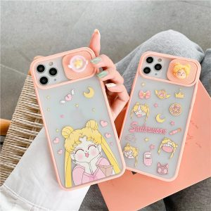 Cute Lens Protection iPhone 12 Case