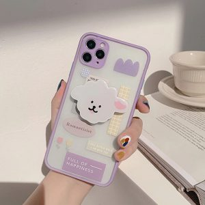 Cute Purple Shockproof iPhone 12 Pro Max Case