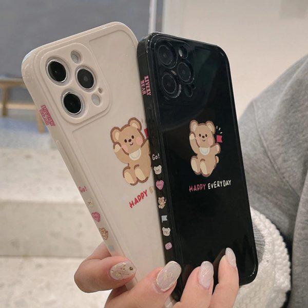 Happy Cartoon Bear iPhone 11 Pro Max Case
