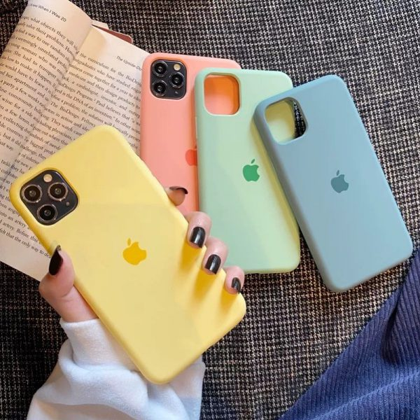 Simple Silicone iPhone 11 Pro Max Case