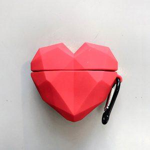 3D Heart AirPod Case - FinishifyStore