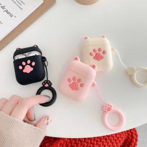 cat paw airpod case - finishifystore