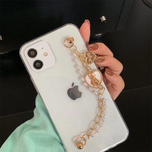 Cute Bracelet Clear iPhone Case - FinishifyStore