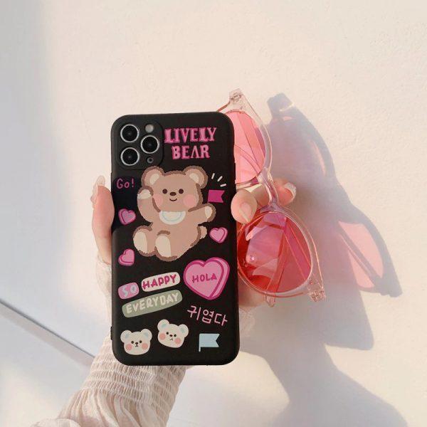 Cool Cartoon Bear iPhone 11 Pro Max Case