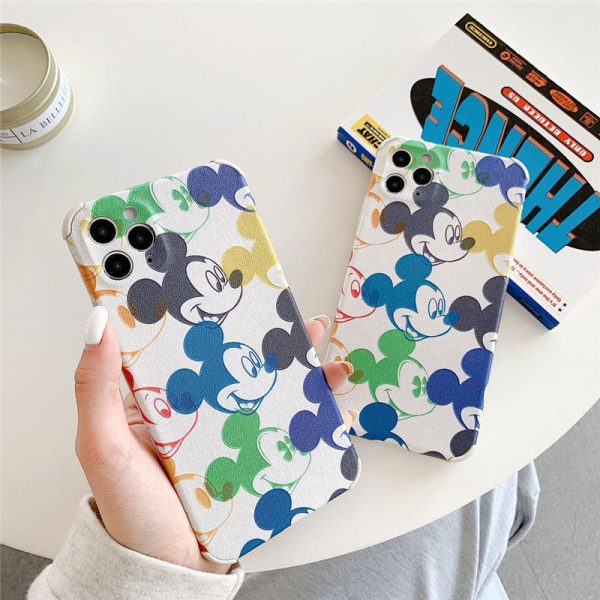 Funny Cartoon Mickey Mouse iPhone Cases - FinishifyStore