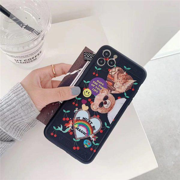 Cool Fashion Bear iPhone 11 Case