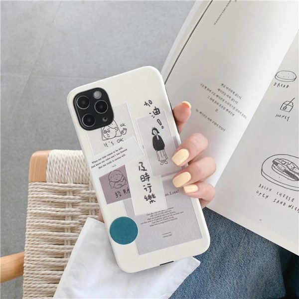 Japanese Fashion iPhone Case