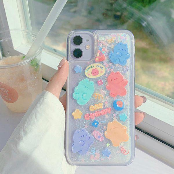 Glitter Design iPhone 12 Case