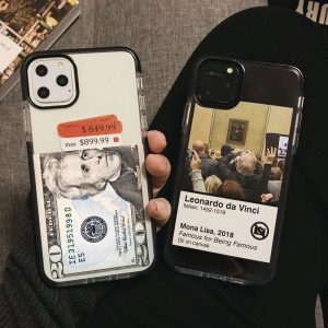 Labels Clear Design iPhone Case - FinishifyStore