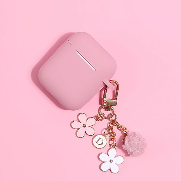 Pink Flower Design AirPods Case - FinishifyStore