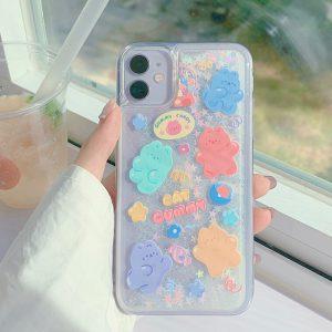 glitter iPhone 11 case - finishifystore
