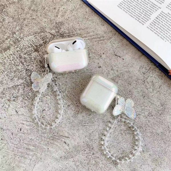 Butterfly Chain AirPods Case