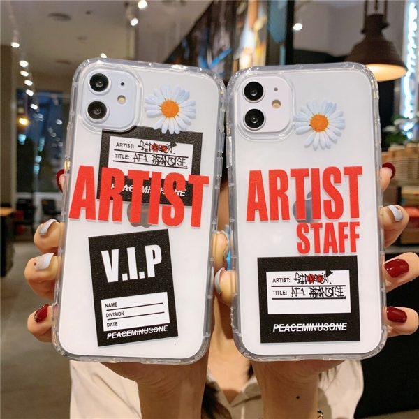 Fashion Dasiy Peaceminusone iPhone Case