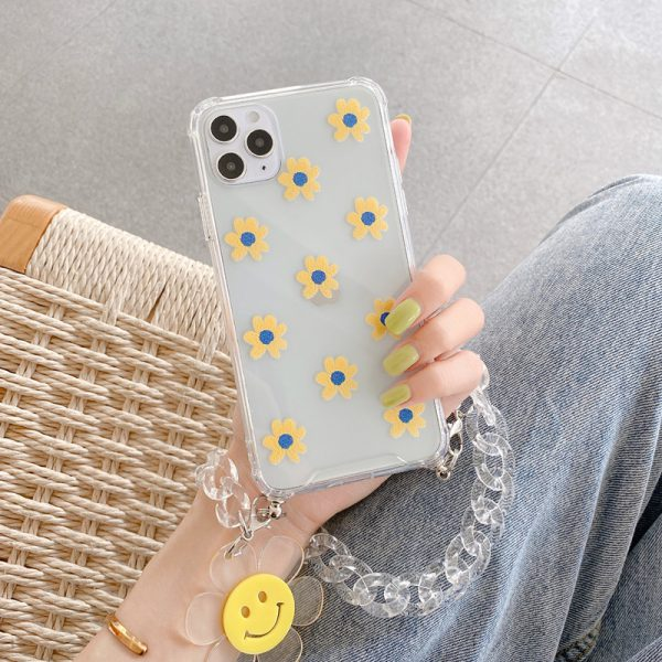 Smile Daisy iPhone Case