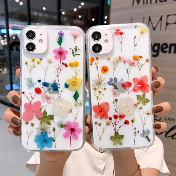 Hand Picked Flower iPhone Case