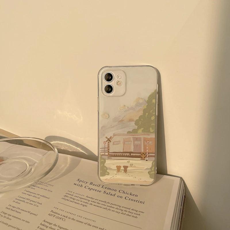 landscape iPhone 12 case - finishifystore