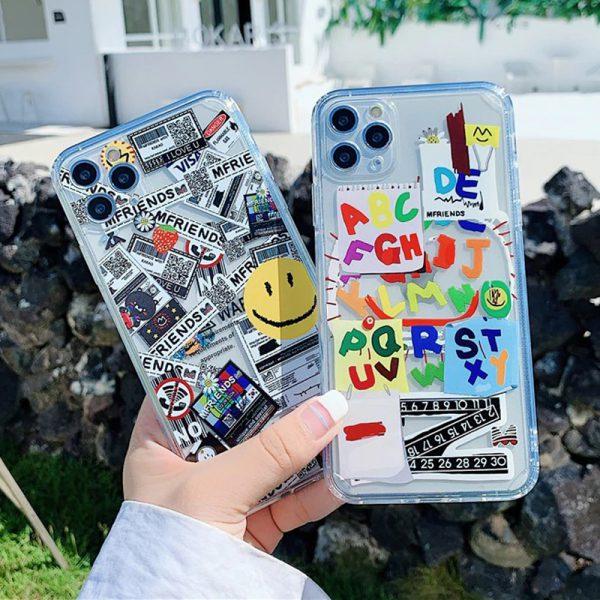 sticker iPhone Case - FinishifyStore