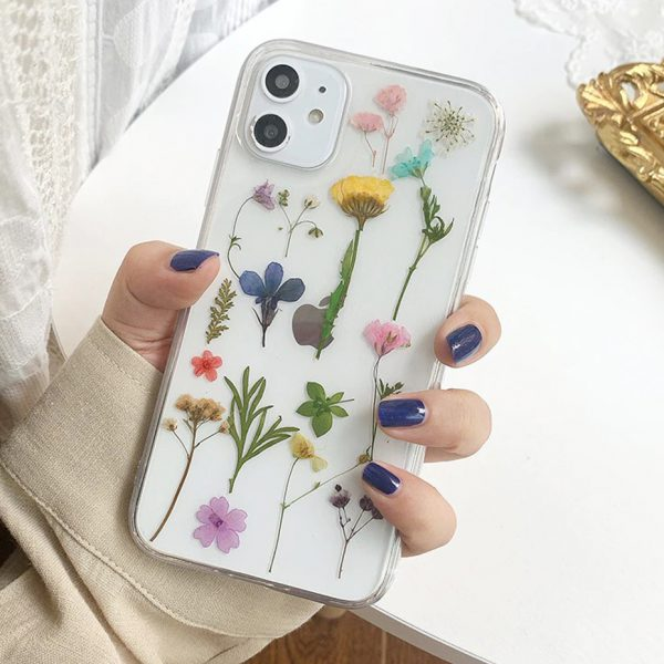 iPhone Case With Flowers