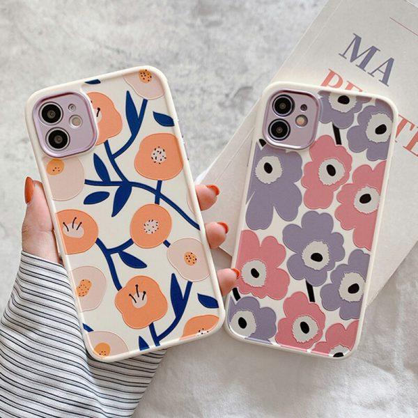 flowers iPhone case - finishifystore