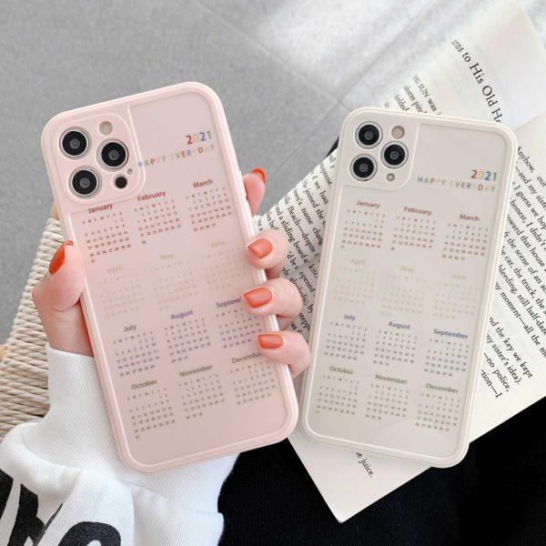 Calendar iPhone Case - FinishifyStore