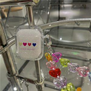 Hearts Chain AirPods Case - FinishifyStore