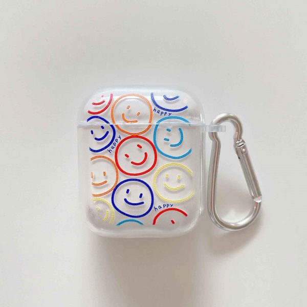 Smiley Face AirPods Case - FinishifyStore