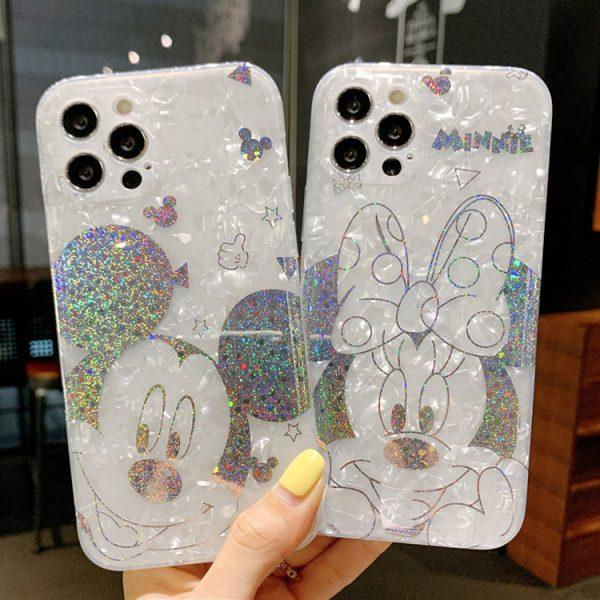 Glitter Mickey & Minnie Cases - FinishifyStore