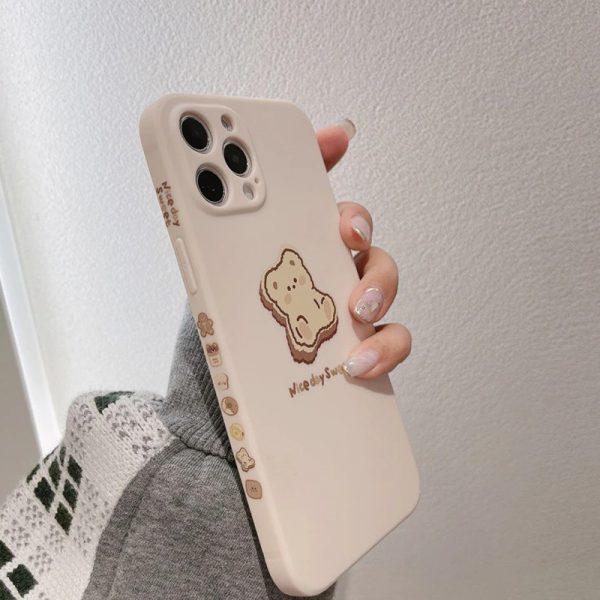 Cream Kawaii iPhone Case - FinishifyStore
