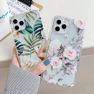 Leaf & Flowers Phone Case for iPhone